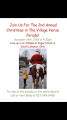Icon of 2019 Christmas in the Village Horse Parade